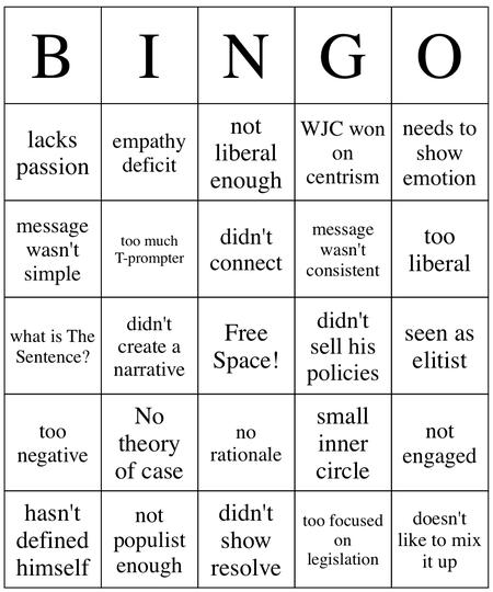 Midterm-bingo